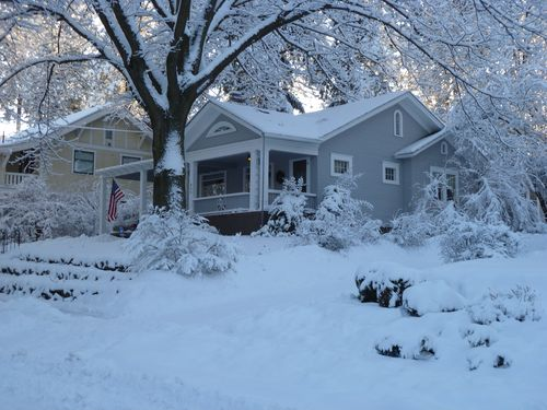 Our House in Snow by Bill 002
