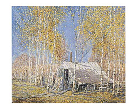 The Guide's Home, Arthur Lismer