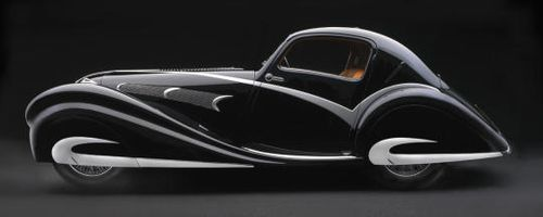 1936 Delahaye Antique Car