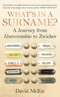 What's in a Surname